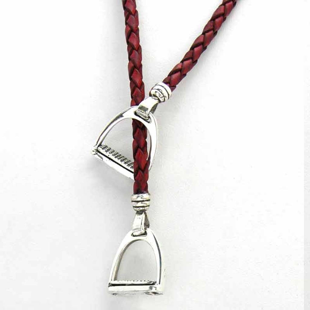 Stirrup Lariat Necklace