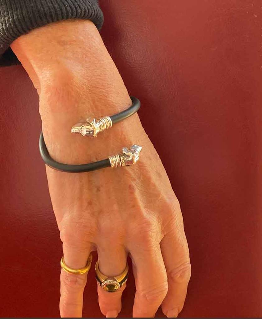 Gemini Bracelet on figure