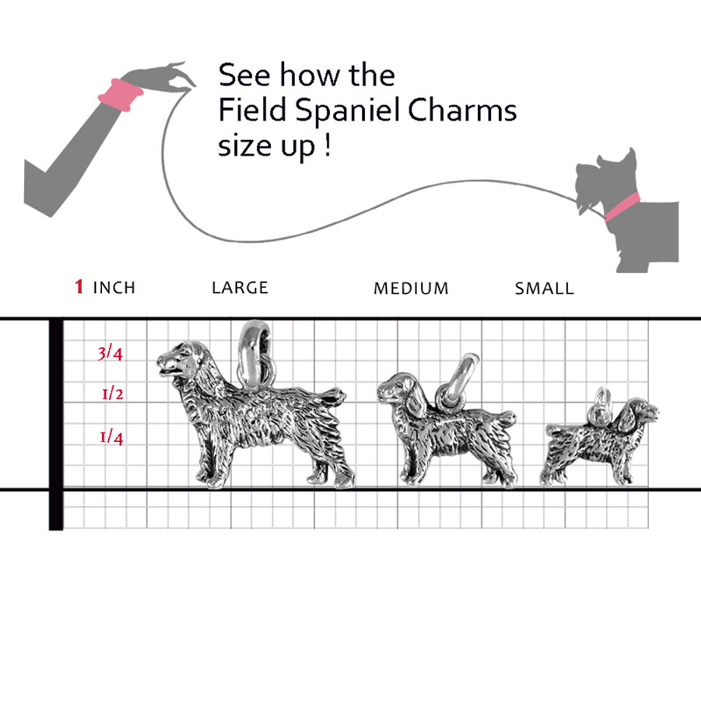 Field Spaniel Large Charm