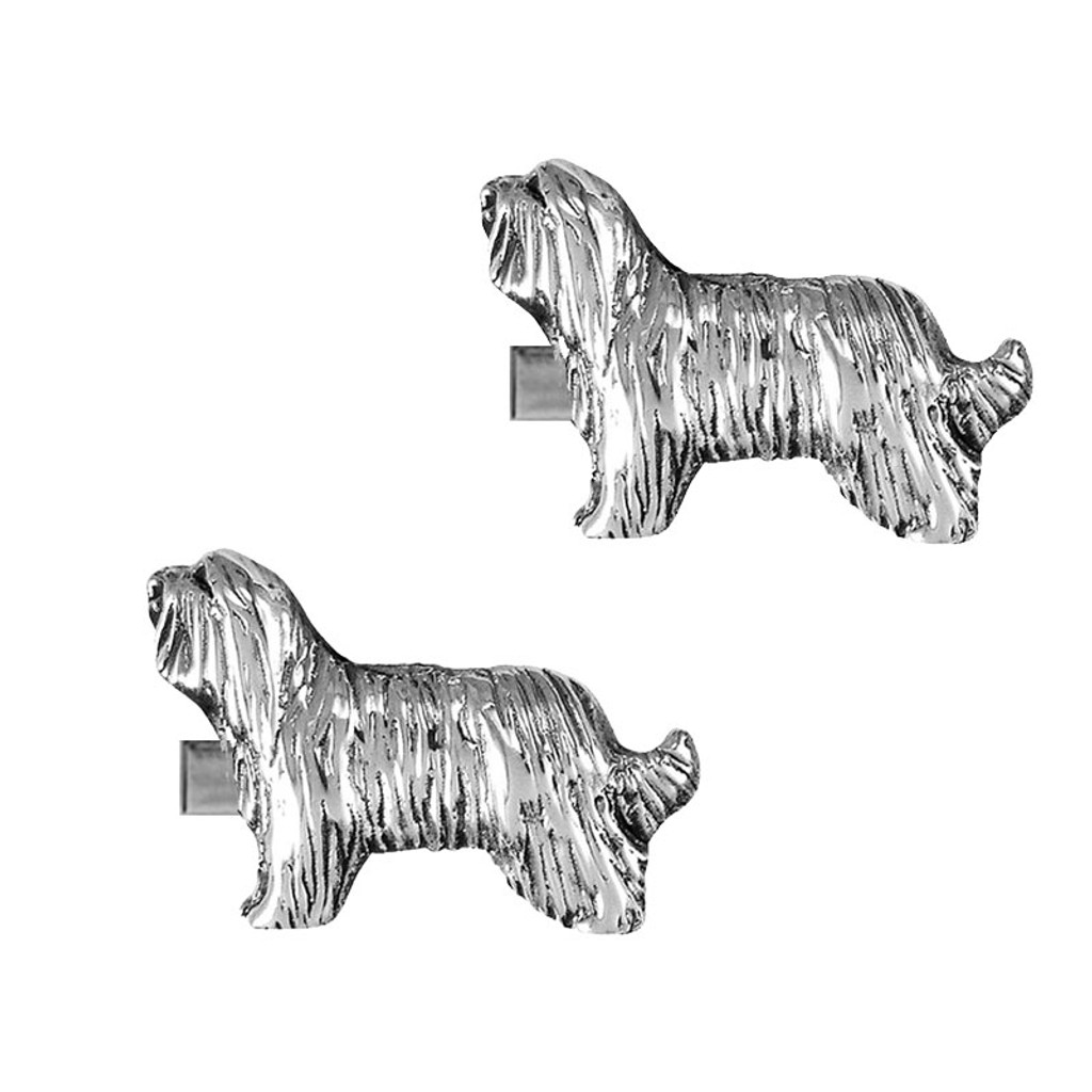 Bearded Collie Cufflinks
