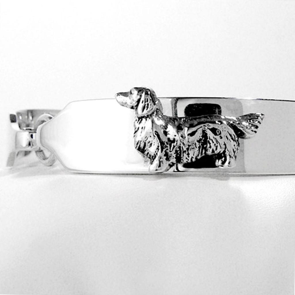ID Bracelet with Dog Breed