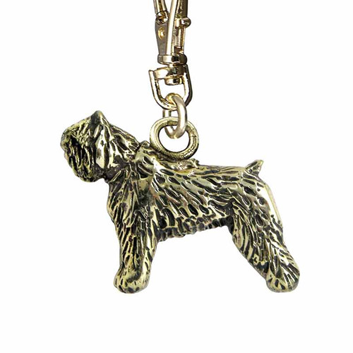 Bouvier Brass Zipper Pull