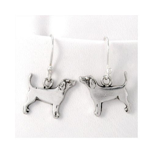 Beagle Earrings