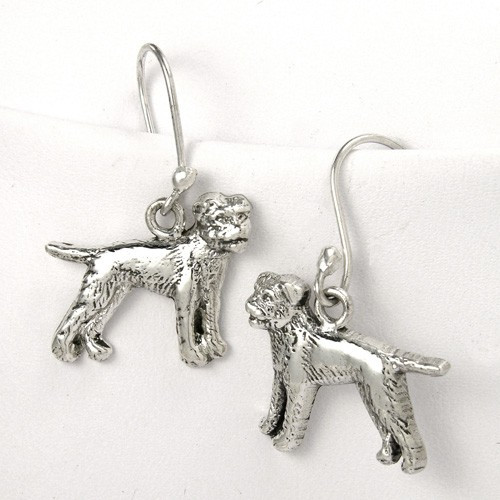 Border Terrier Earrings
