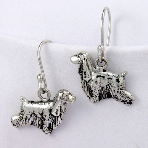 Cocker Spaniel Earrings - English