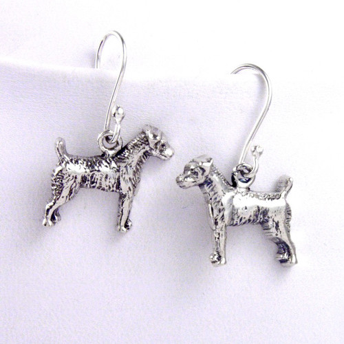 Jack Russell Rough Earrings