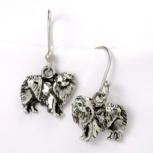 Japanese Chin Earrings