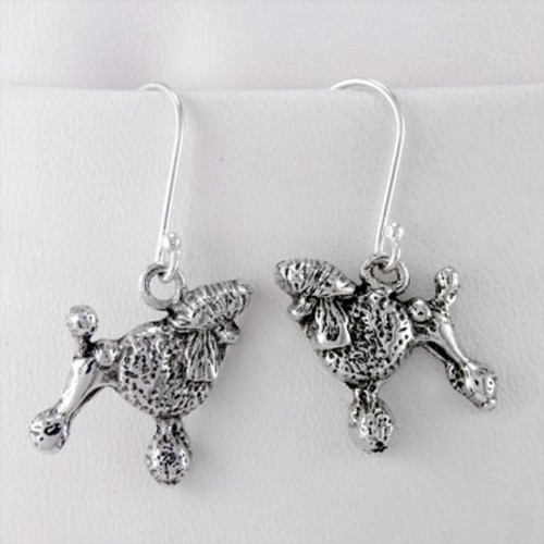 Poodle Show Cut Earrings