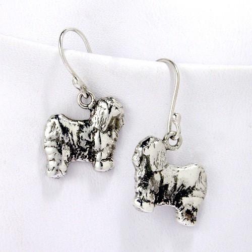 Tibetan Terrier Earrings
