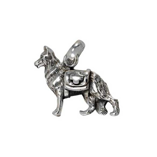 German Shepherd Service Dog Charm