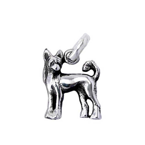 Chinese Crested Medium Charm