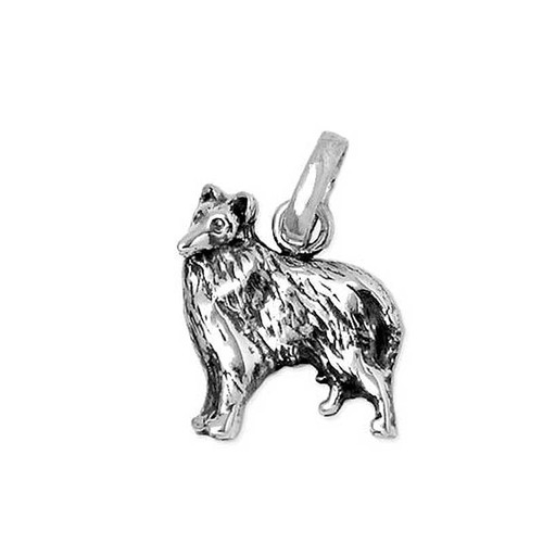 Collie Medium Charm