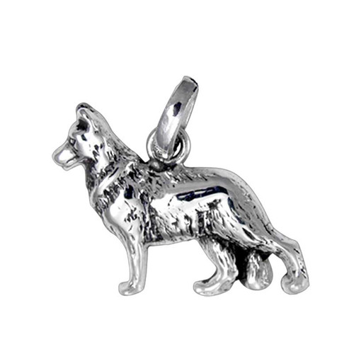 German Shepherd Medium Charm
