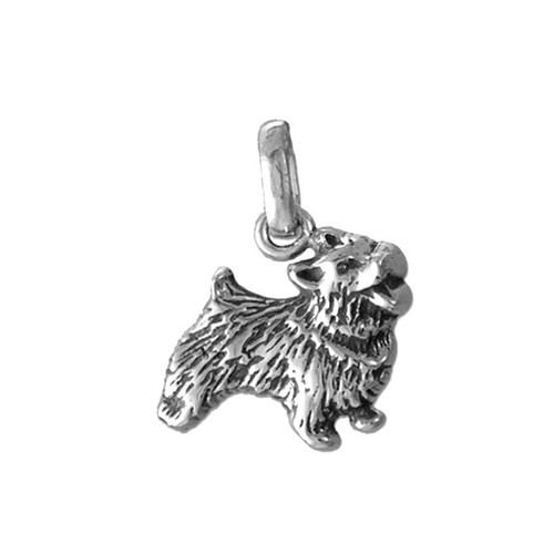 Norwich Terrier Medium Charm