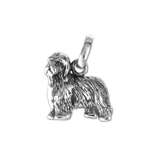 Old English Sheepdog Medium Charm