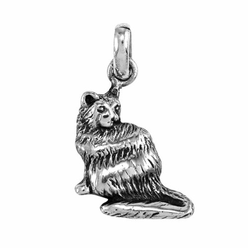 Persian Cat Medium Charm
