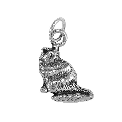 Persian Cat Small Charm