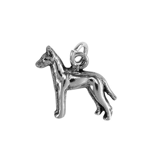 Manchester Terrier Small Charm