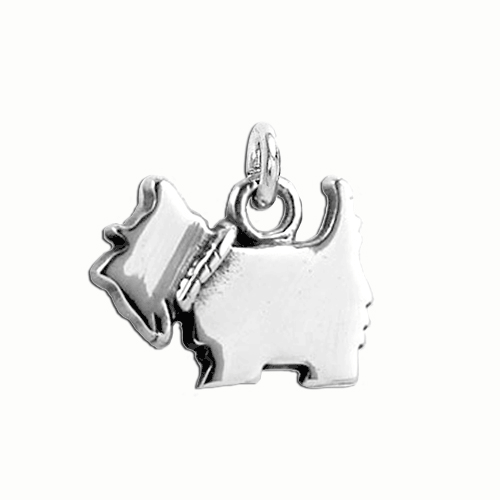 Scottie Logo Small Charm