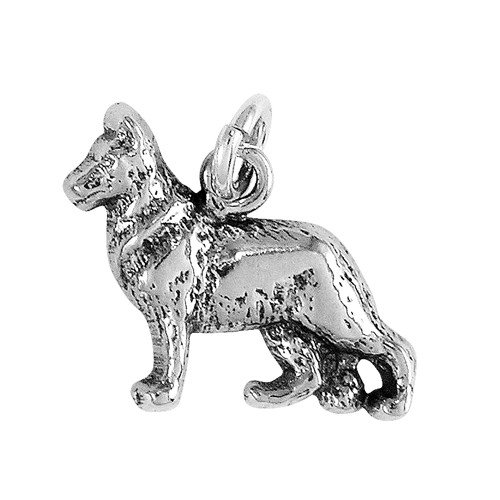German Shepherd Small Charm