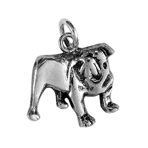 Bull Dog Small Charm