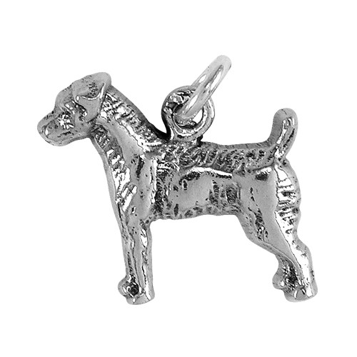 Jack Russell Rough Coat Small Charm