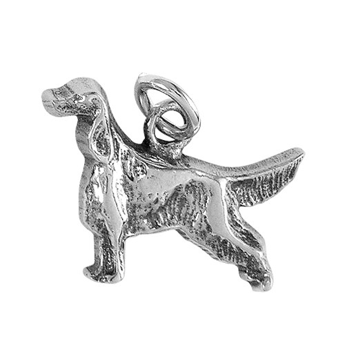 Irish / English Setter Small Charm