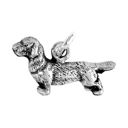 Wire Haired Dachshund Small Charm
