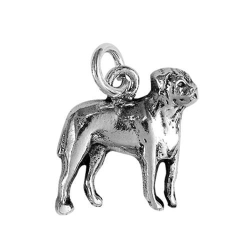 Bull Mastiff Small Charm