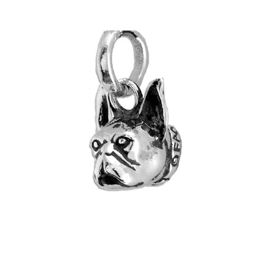 Boston Terrier Head Pendant
