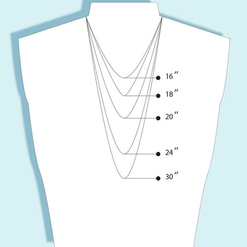 Rounded Box Chain Necklace 1.8 mm