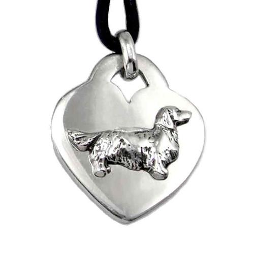 Heart Pendant Dog