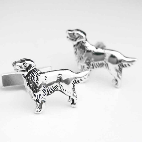 Soft Coat Golden Retriever Cufflinks