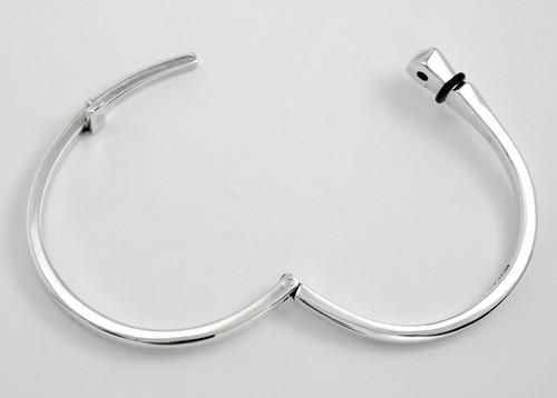 Nail bracelet open