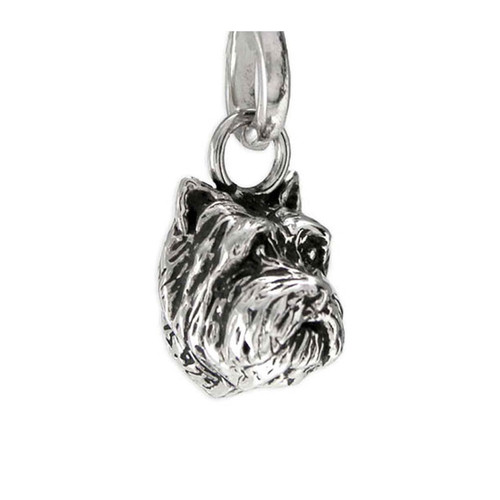 Cairn Terrier Head Pendant