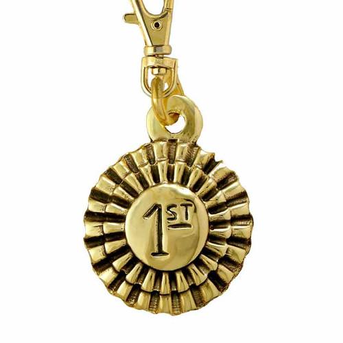 Award ID Tag Brass