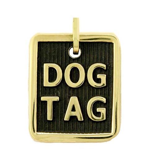 Dog Tag ID Brass