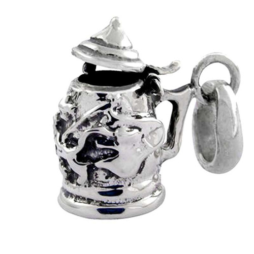 German Beer Stein Charm