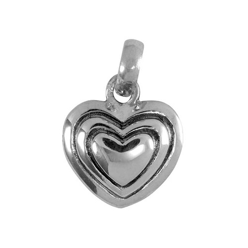 Heart Charm - 3 tier