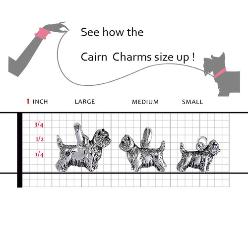 Cairn Terrier Large Charm