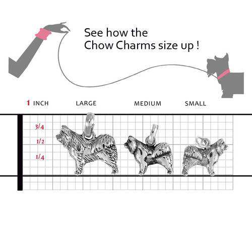 Chow Chow Profile Charm compared