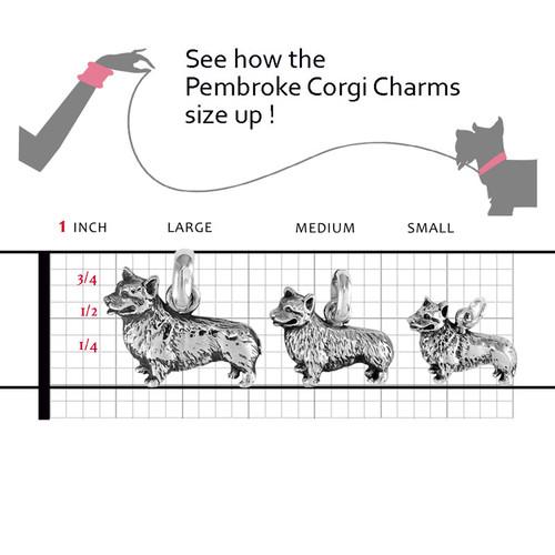 Corgi Pembroke Large Charm