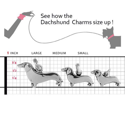 Dachshund Large Charm