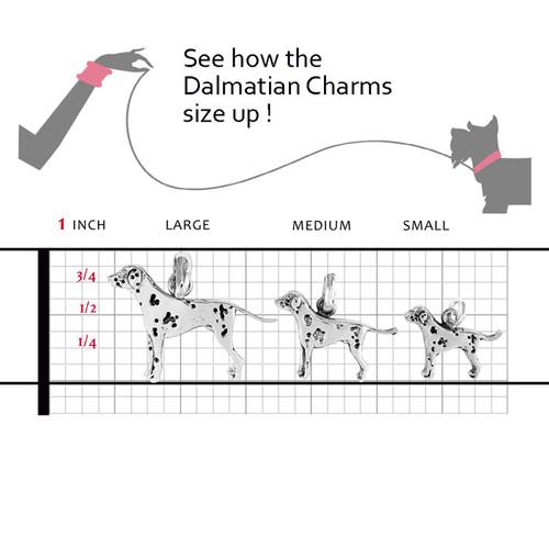 Dalmatian Large Charm