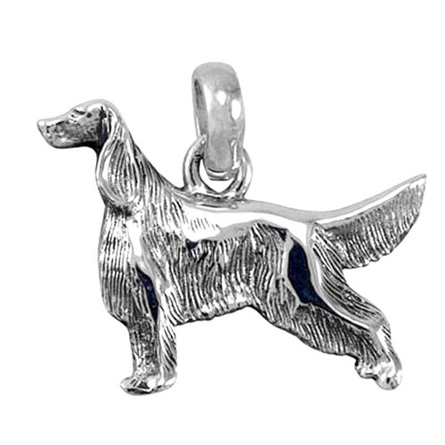 Irish / English Setter Large Charm