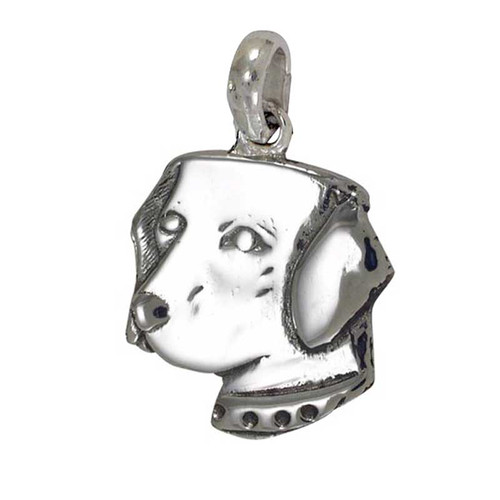 Labrador Head Large Charm