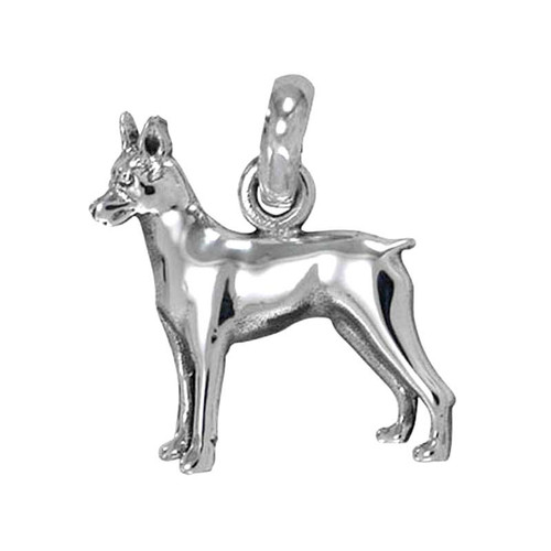 Miniature Pinscher Large Charm