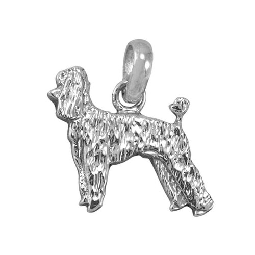 Poodle Puppy Large Charm
