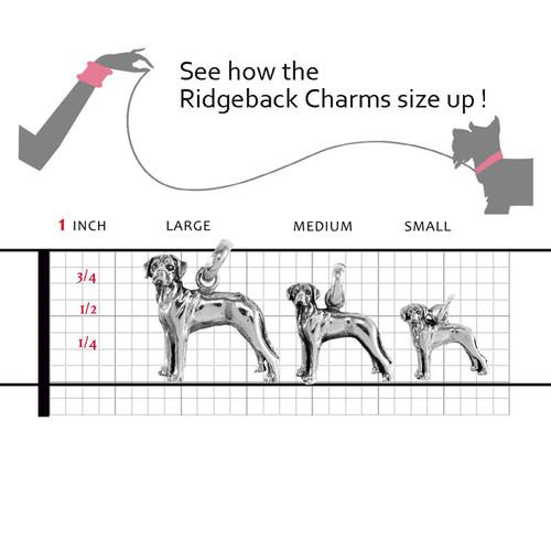 Rhodesian Ridgeback Large Charm