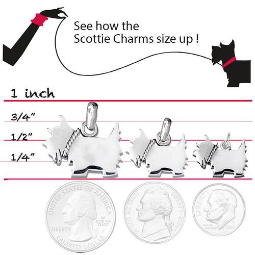 Scottie Logo Large Charm